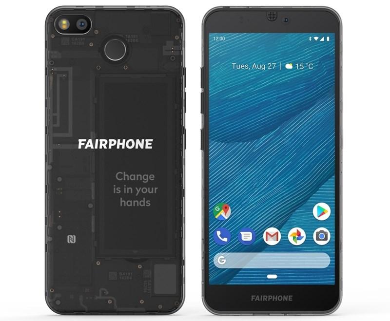 Technische Daten von Fairphone 3