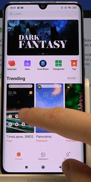 wie Sie das Thema des Xiaomi-Telefons nach Themen ändern