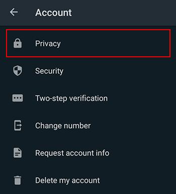 Wie man nervige Personen in WhatsApp blockieren android
