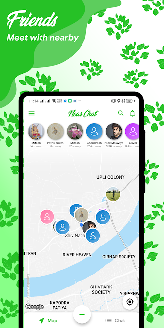8 Chat-Apps Messenger, freunde in der Nähe finden kostenlos
