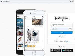 Wie sie Instagram auf computern verwenden mit Direct, PC web