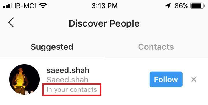Personen in sozialen Netzwerken zu identifizieren, meine Telefonnummer haben