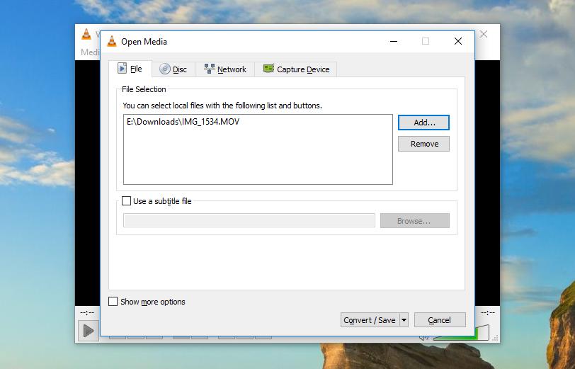 wie Sie mit der VLC-Software die Videos komprimieren können
