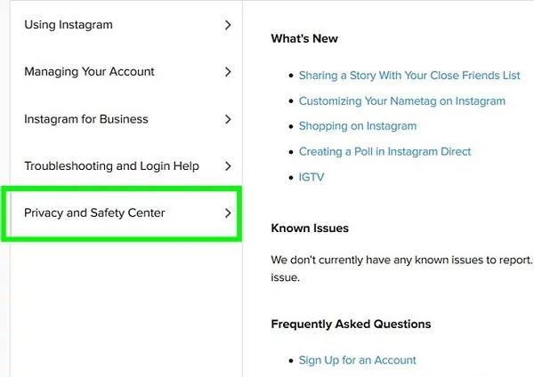 Wie Sie den Instagram-Support kontaktieren und erhalten hilfe