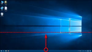 Die Größe der Taskleiste in Windows 10 ändern (höhe, breite)
