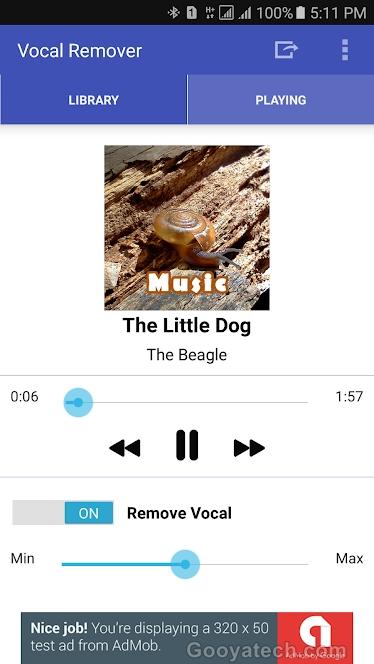 Gesang aus lied entfernen, stimme mp3 musik android windows