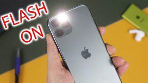 Blitzlicht bei Anruf iPhone, SMS Nachrichten, Benachrichtigung