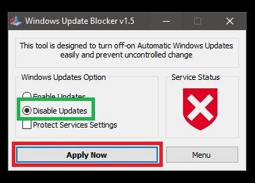 Windows 10 automatische Updates deaktivieren Tools, komplett