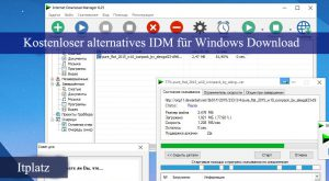 Kostenlose Alternative zu IDM für Windows 10 Download, beste