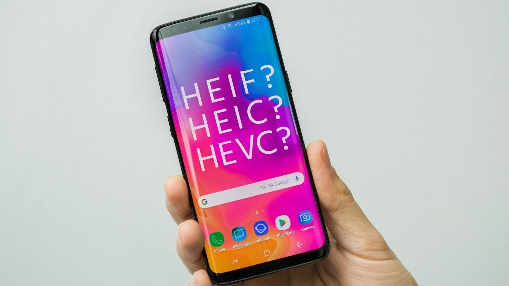 HEIF-Fotoformat in Android-Kamera-App verwenden, HEIC