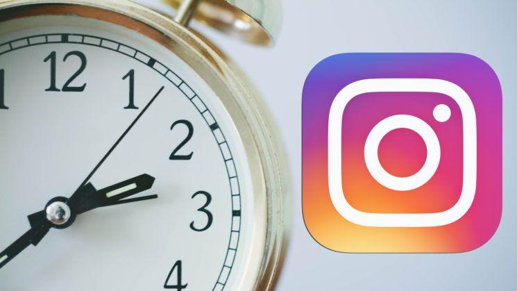 Verbrachte Zeit auf Instagram sehen, online Zeit, Deine Aktivität
