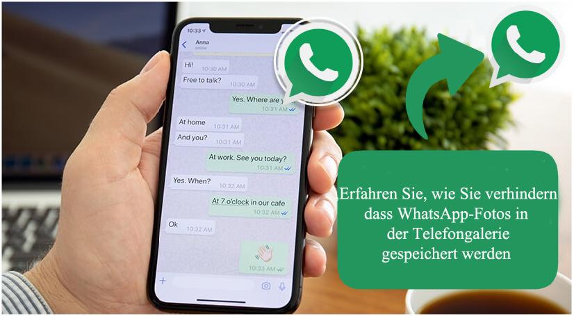 WhatsApp-Bilder nicht in Galerie speichern Android, anzeigen