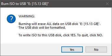 Windows 10 usb-stick erstellen, ISO to USB booten, installieren
