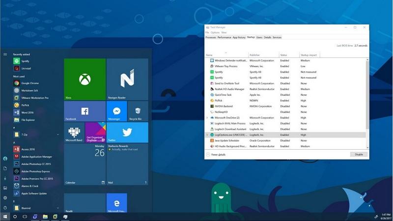 Autostart-Programme deaktivieren windows 10,entfernen