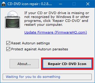 DVD-Laufwerk verschwunden Windows 10, 8, 7 nicht angezeigt