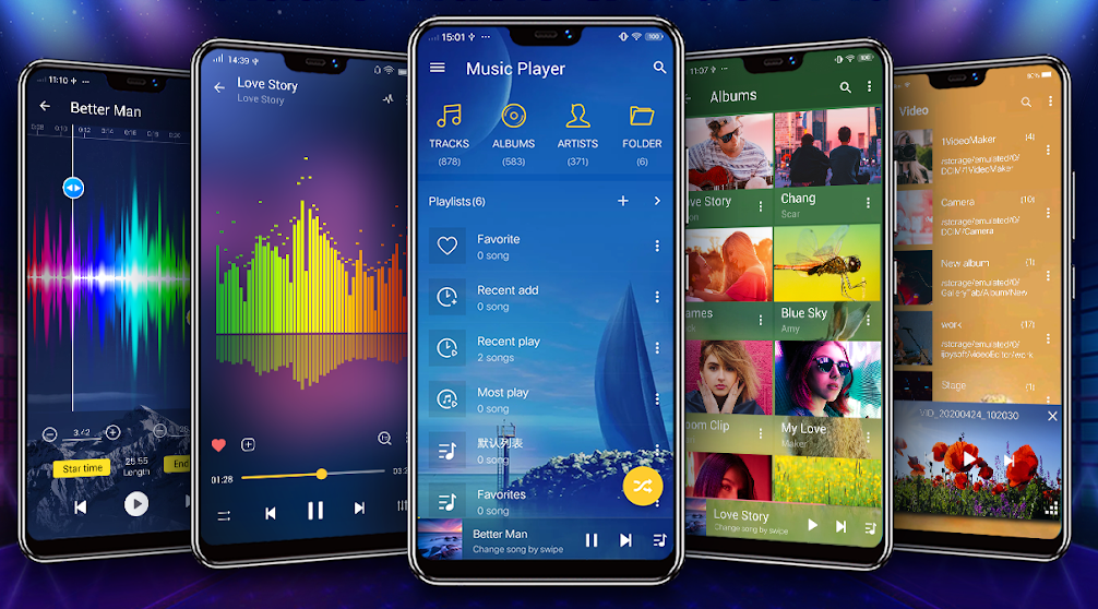 Music Player 2021 herunterladen für Android-Handys