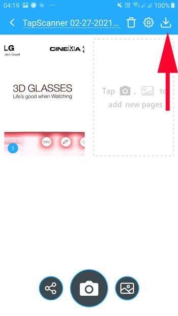 Beste Dokumenten-Scanner-App Android kostenlos Scannen