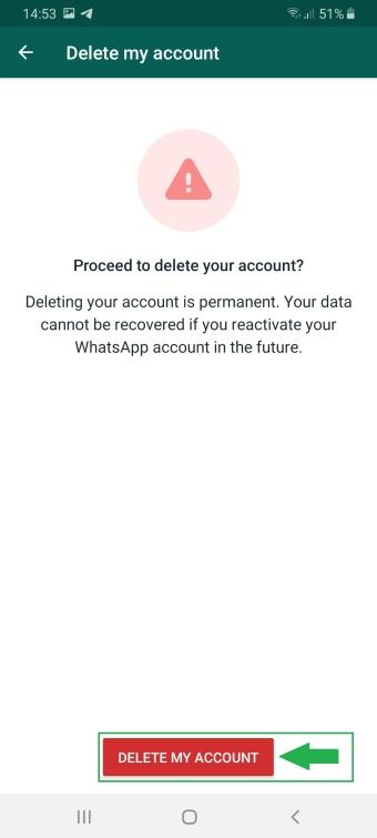 WhatsApp Account löschen ohne Handy, App zugriffSIM-Karte