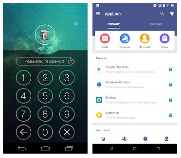 Bildschirm, App sperren Android, Galerie, Einstellungen Kinder