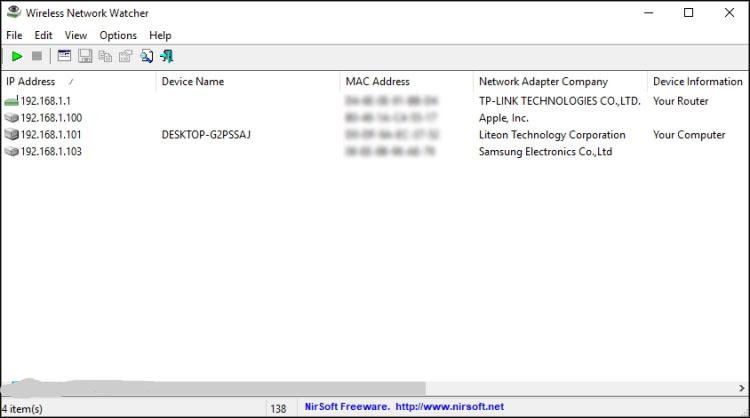 WLAN verbundene Geräte anzeigen Windows 10, 7, 8 WiFi