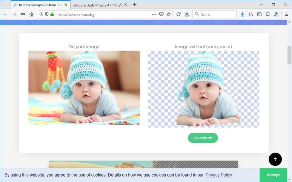 Foto-Hintergrund entfernen App Android Windows online iPhone